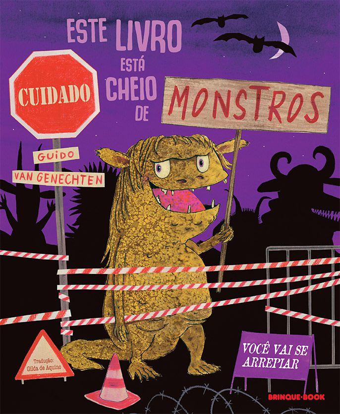 Este livro está cheio de monstros  - Grupo Brinque-Book