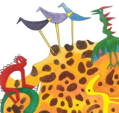 Galinhola e o Monstro Escamoso  - Grupo Brinque-Book