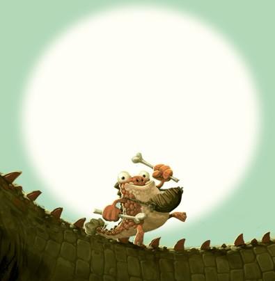 Gigantossauro  - Grupo Brinque-Book