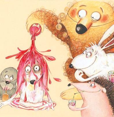 Hugo está com soluço  - Grupo Brinque-Book