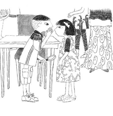 Ludi e os fantasmas da Biblioteca Nacional  - Grupo Brinque-Book