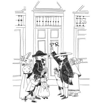 Ludi na chegada e no bota-fora da Família Real  - Grupo Brinque-Book