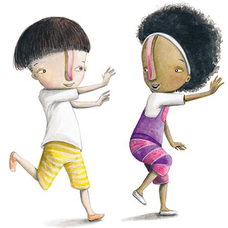 Manu e Mila  - Grupo Brinque-Book