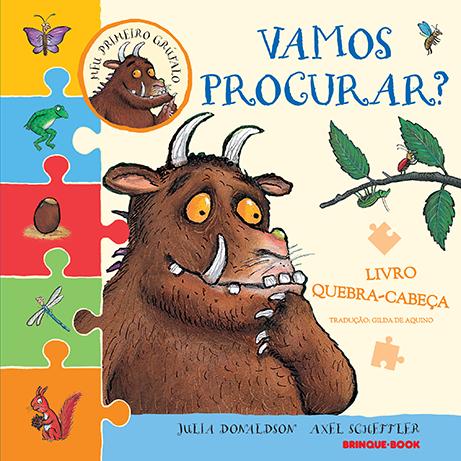 Meu primeiro Grúfalo: Vamos procurar?  - Grupo Brinque-Book