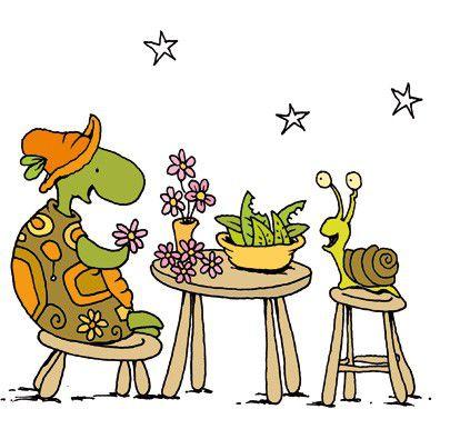 O Caracol e a Tartaruga são Amigos  - Grupo Brinque-Book