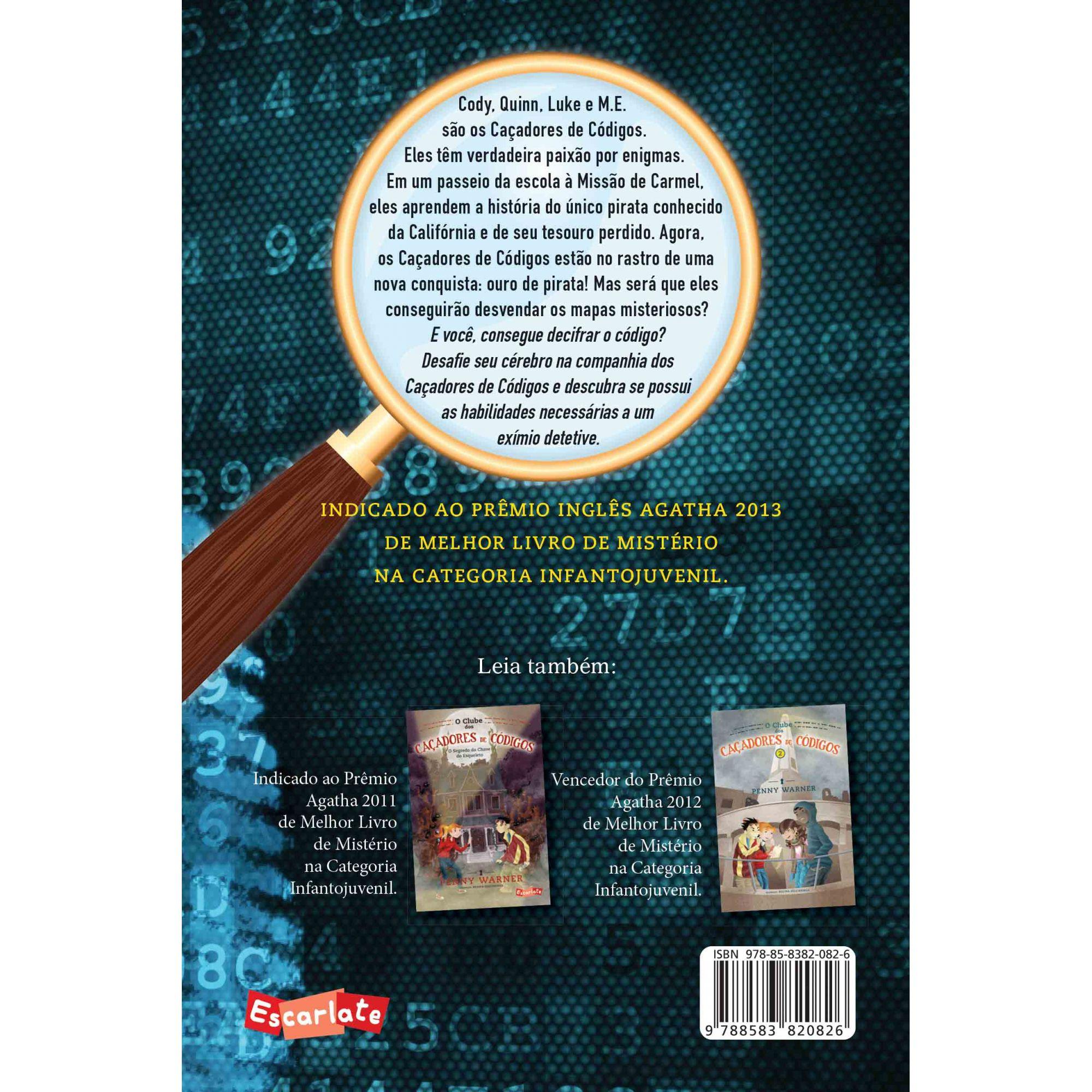 O clube dos caçadores de códigos 3  - Grupo Brinque-Book