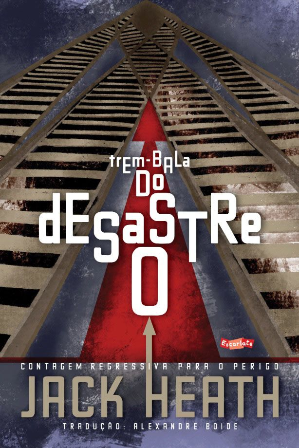 O desastre do trem-bala - Grupo Brinque-Book
