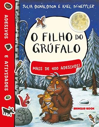 O filho do Grúfalo - livro de adesivo  - Grupo Brinque-Book