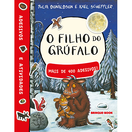 O filho do Grúfalo - livro de adesivo  - Brinque-Book
