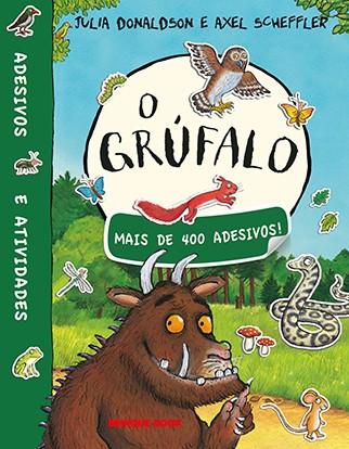 O Grúfalo - livro de adesivo  - Grupo Brinque-Book