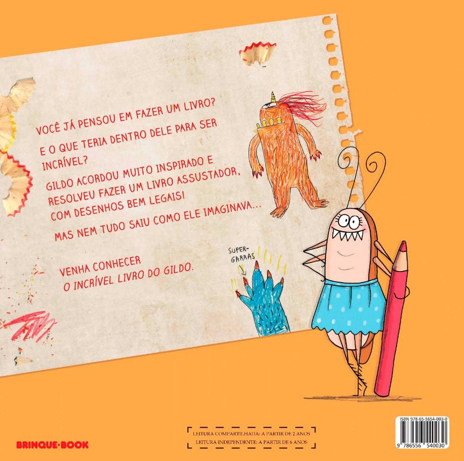 O incrível livro do Gildo  - Grupo Brinque-Book