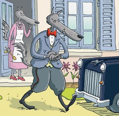O Lobo, a Cabra e os Sete Cabritinhos  - Grupo Brinque-Book