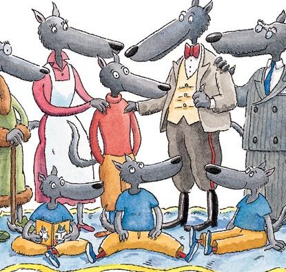 O Lobo Sentimental  - Grupo Brinque-Book