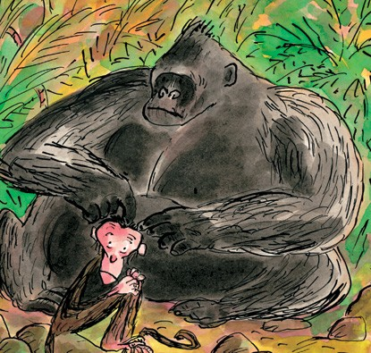 O Macaco Pensador  - Grupo Brinque-Book