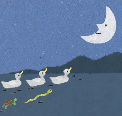 O Nascimento da Lua  - Grupo Brinque-Book