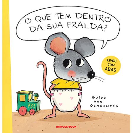 O Que Tem Dentro da sua Fralda?  - Grupo Brinque-Book