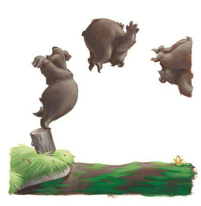O Urso Corajoso  - Grupo Brinque-Book