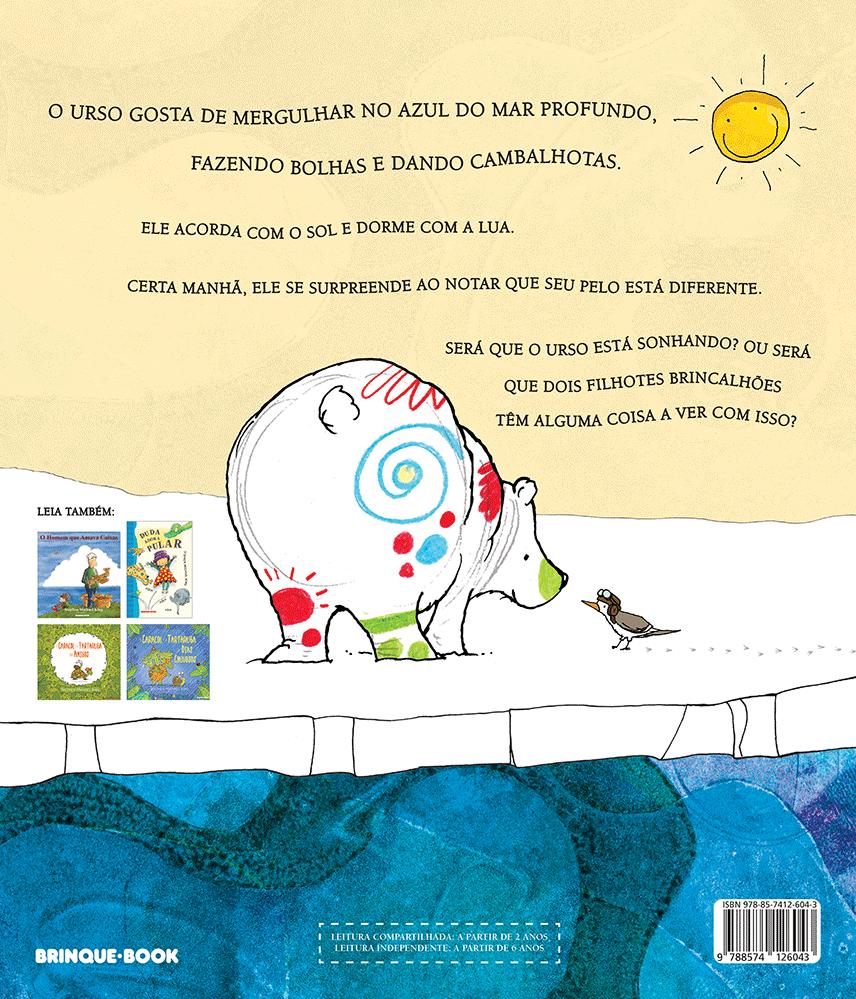 O urso de todas as cores  - Brinque-Book