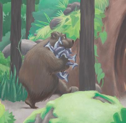 O Urso Esfomeado  - Grupo Brinque-Book