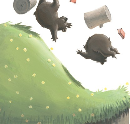 O Urso Pulguento  - Grupo Brinque-Book
