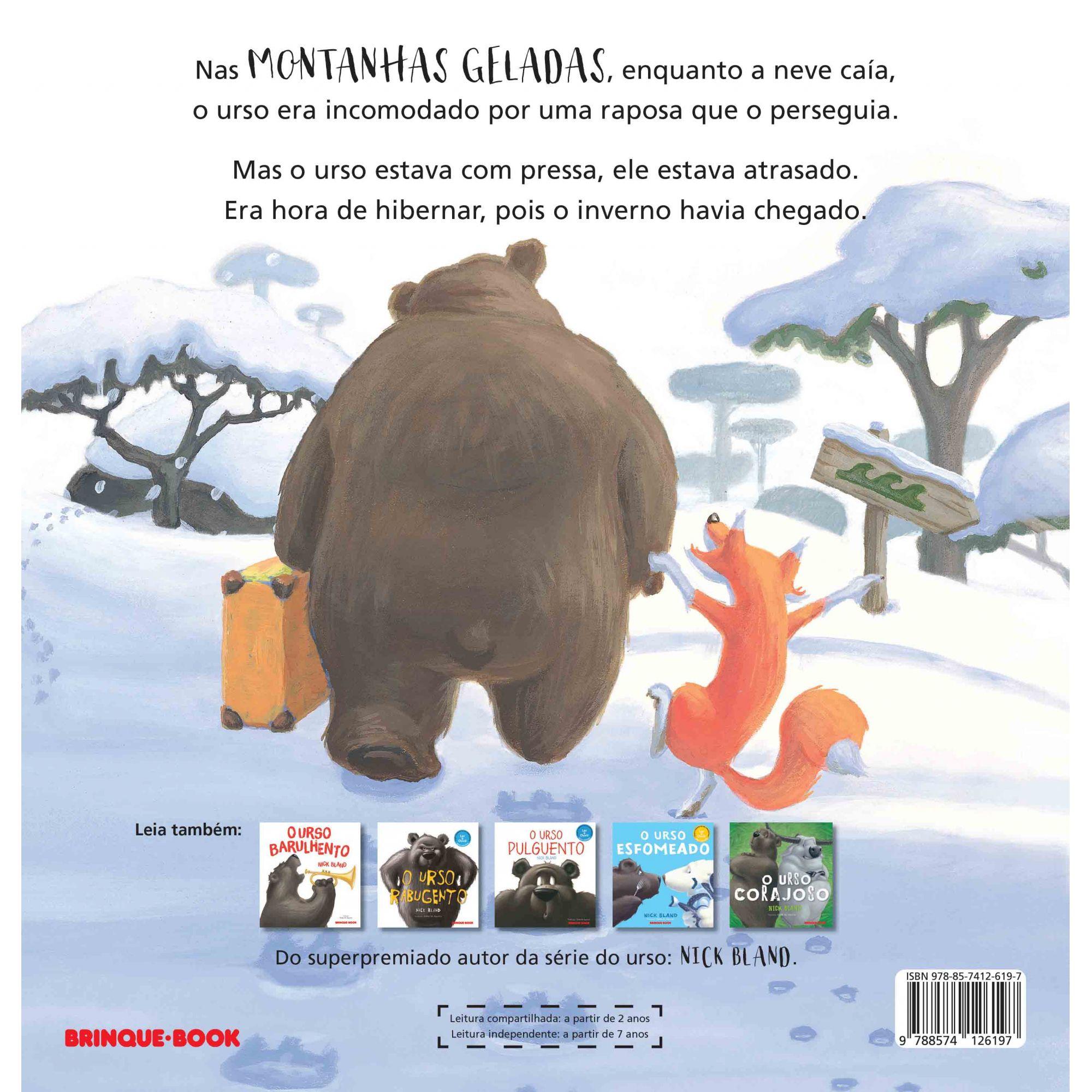 O urso sonolento  - Grupo Brinque-Book