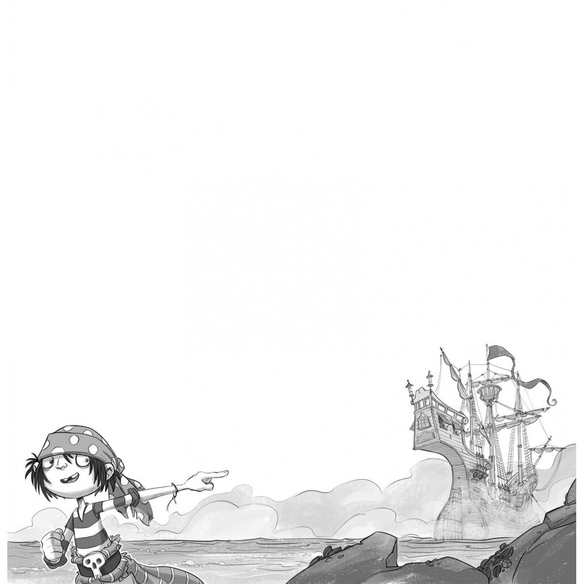 Os Bandeira-Pirata e a caverna da perdição  - Brinque-Book