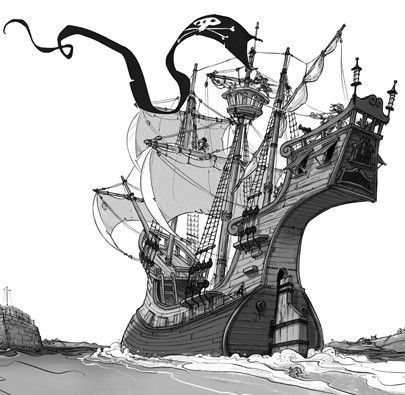 Os Bandeira-Pirata e o Galeão Assombrado  - Grupo Brinque-Book