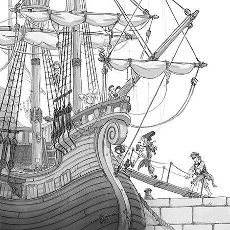 Os Bandeira-Pirata e o ouro do monstro  - Grupo Brinque-Book