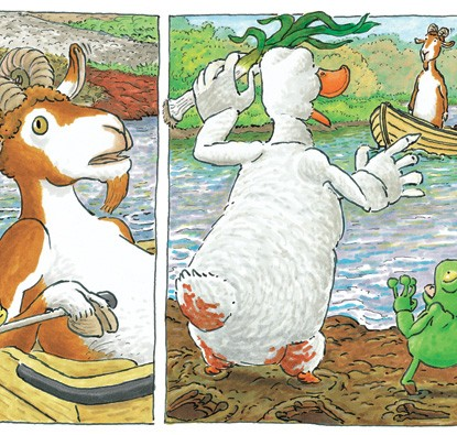 Pato Atolado  - Grupo Brinque-Book