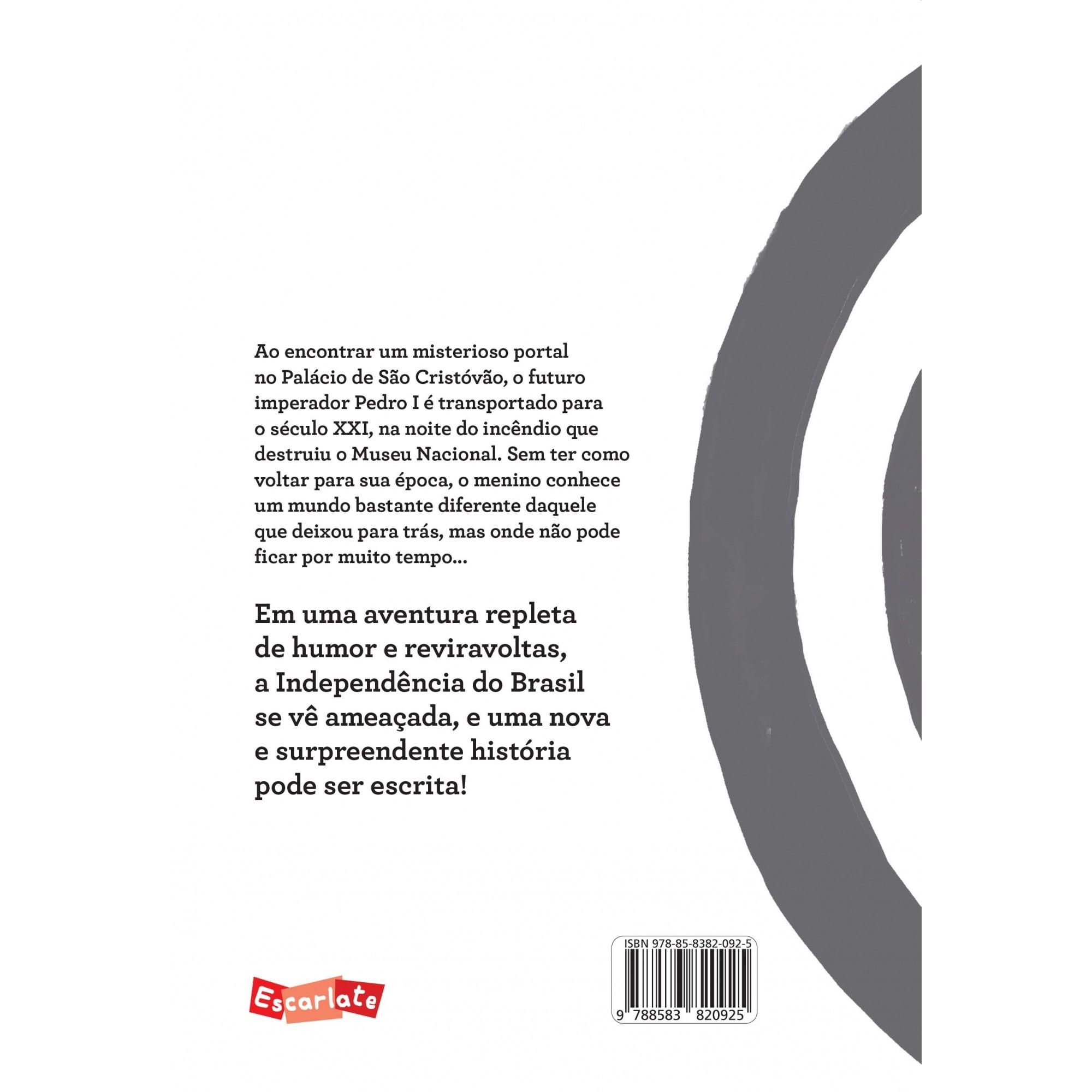 Pedro e o portal  - Brinque-Book