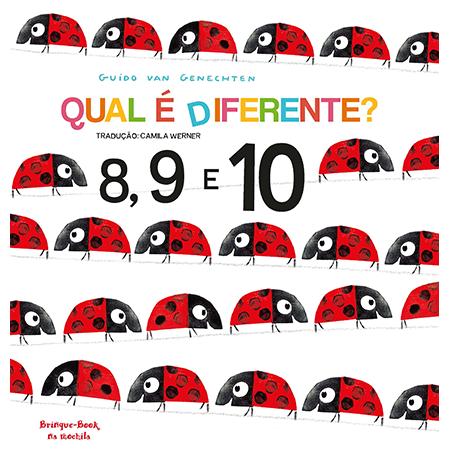 Qual é Diferente? 8, 9 e 10  - Grupo Brinque-Book