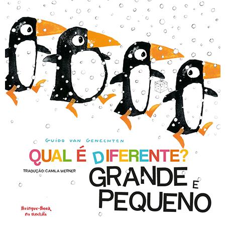Qual é Diferente? Grande e Pequeno  - Grupo Brinque-Book
