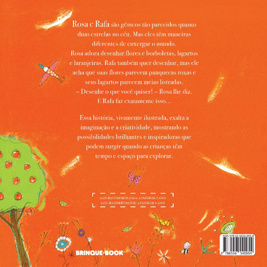 Rosa e Rafa  - Brinque-Book