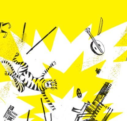 Três Tigres Tristes  - Grupo Brinque-Book