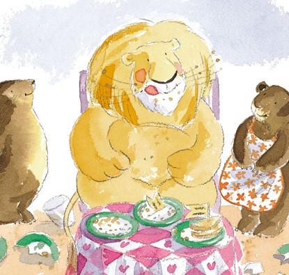 Um Leão Meio Faminto e Outras Histórias  - Grupo Brinque-Book