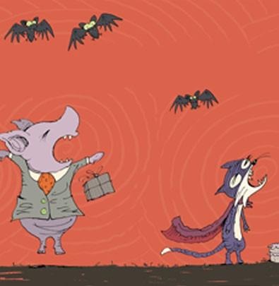 Uma noite assustadora  - Grupo Brinque-Book