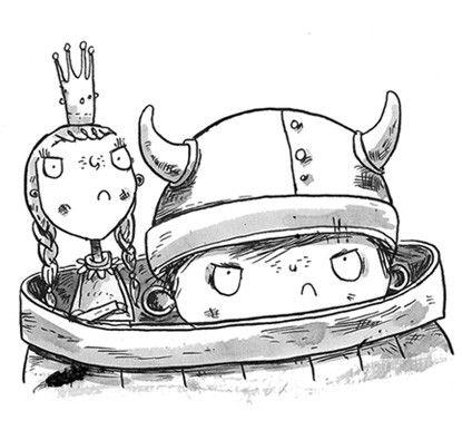 Vulgar, o Viking, e os Saqueadores de Bolinhos de Pedra  - Brinque-Book