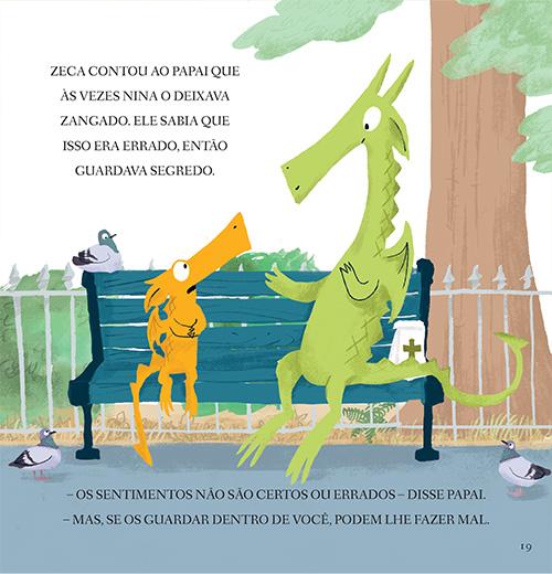 Zeca conhece Nina  - Grupo Brinque-Book