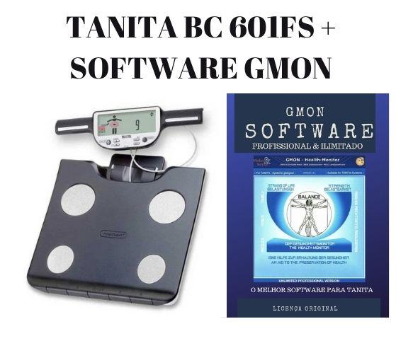 Balança De Bioimpedância Bc 601 FS 2020 Tanita C/ Software Ilimitado 2021 BC601