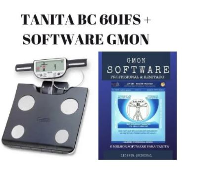 Balança De Bioimpedância Tanita Bc 601 FS C/ Software Ilimitado