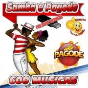 PENDRIVE GRAVADO MUSICAS SAMBA E PAGODE