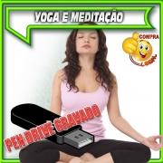 PENDRIVE GRAVADO MUSICAS YOGA, RELAXAMENTO E MEDITAÇÃO