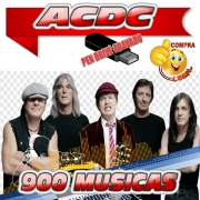 PENDRIVE GRAVADO MUSICAS DISCOGRAFIA ACDC