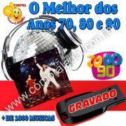 PENDRIVE 16 GIGAS GRAVADO MUSICAS ANOS 70,80,90