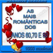PENDRIVE 16 GIGAS GRAVADO MUSICAS COLETÂNEA AS MAIS ROMANTICAS DOS ANOS 60,70 80 E 90
