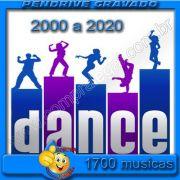 PENDRIVE 16 GIGAS GRAVADO MUSICAS COLETÂNEA MUSICAS DANCE ANOS 2000 À 2020