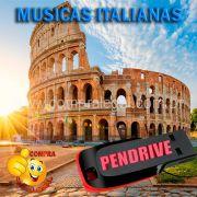 PENDRIVE 16 GIGAS GRAVADO MUSICAS COLETÂNEA MUSICAS  ITALIANAS