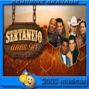 PENDRIVE 16 GIGAS GRAVADO MUSICAS COLETÂNEA SERTANEJO TRADICIONAL