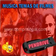 PENDRIVE 16 GIGAS GRAVADO MUSICAS COLETÂNEA TRILHA SONORA DE FILMES VOL.1