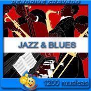 PENDRIVE 16 GIGAS GRAVADO MUSICAS JAZZ E BLUES